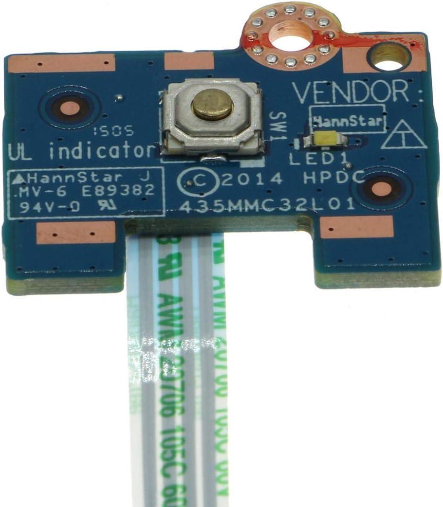Power Button Board for HP 440 G2 450 470 G2 LS-B181P NBX0001N200