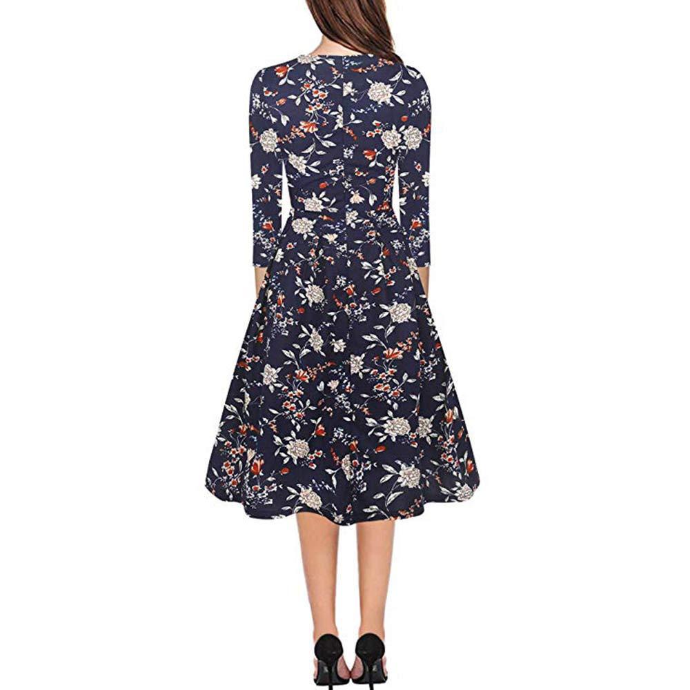 Evening Formal Party Elegant Ladies Womens Floral Mini Dress