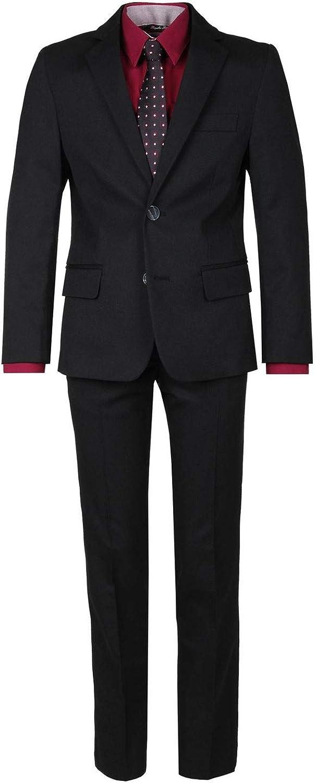 G.O.L ohne Hemd u. Assessoirs - Festlicher Anzug Jungen klassisch schwarz - 34200