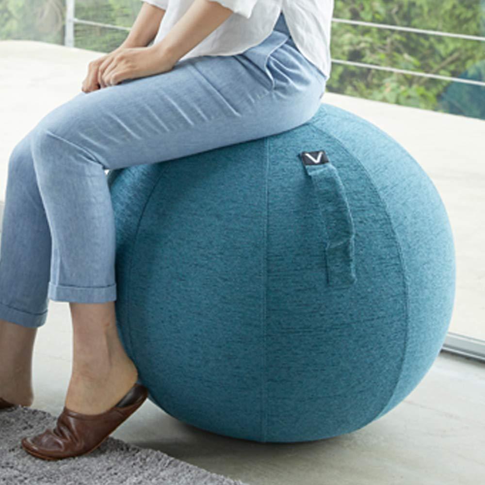 【全商品オープニング価格 特別価格】 バランスボール 65cm ハンドポンプ付き 65cm 耐荷重120kg 空気入れ 椅子 耐荷重120kg B07PCHS6L3 椅子 ブルー ファブリックタイプ, コカコーラ公式 COKE STORE:836d296f --- arianechie.dominiotemporario.com