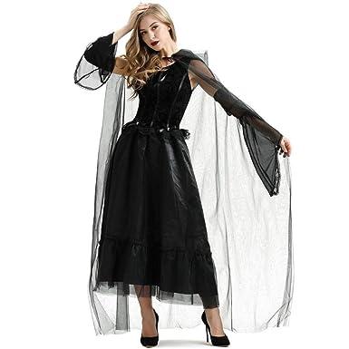 2REMISE Disfraz De Novia Fantasma De Terror De Halloween Cos ...