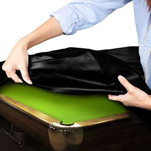 2 T TOOYFUL Professional Billiard Table Cover Waterproof Full Size Pool Table Coverage Protector Accessories