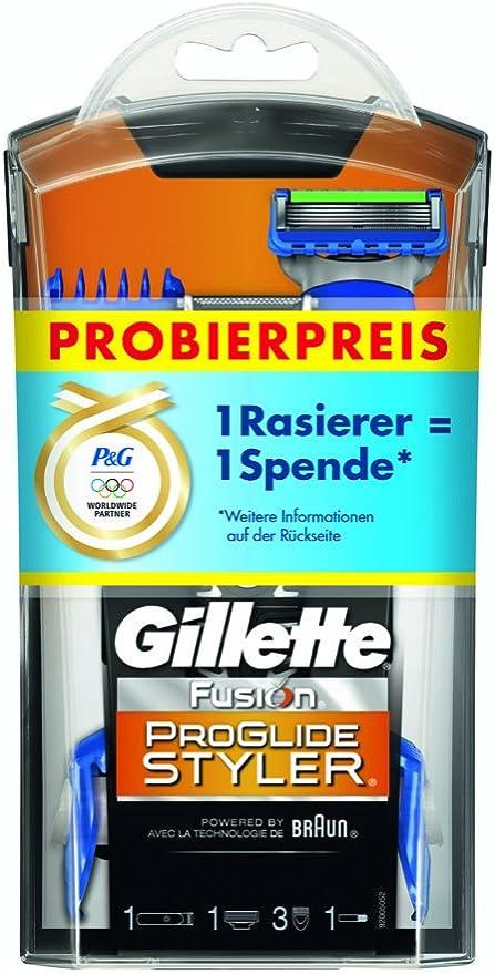 Gillette Fusion ProGlide Styler - Cuchilla de afeitar: Amazon.es ...