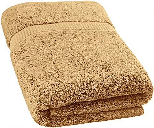 Utopia Towels Soft Cotton Machine Washable Extra Large Bath Towel (35-Inch-by-70-Inch) Luxury Bath Sheet, Champagne