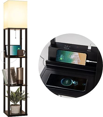 addlon LED Shelf Floor Lamp