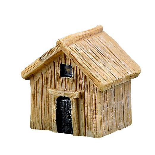 Ruikey Miniatura Micro paisaje lindo tablero casa adornos creativa ...