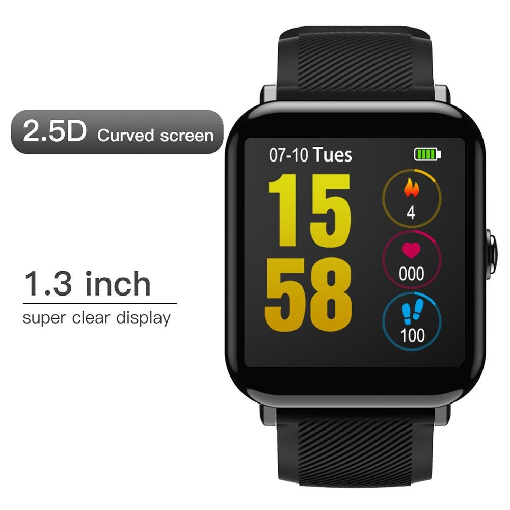 lennonsi Oukitel W2 Reloj Bluetooth, 1.3 Pulgadas LCD ...
