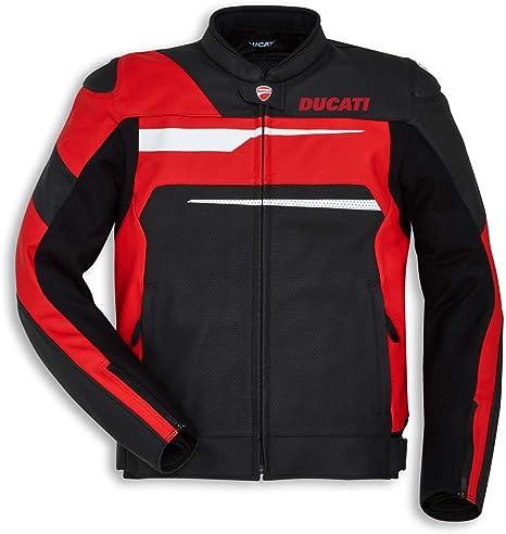 Amazon.com: Ducati Speed Evo C1 - Chaqueta de piel perforada ...