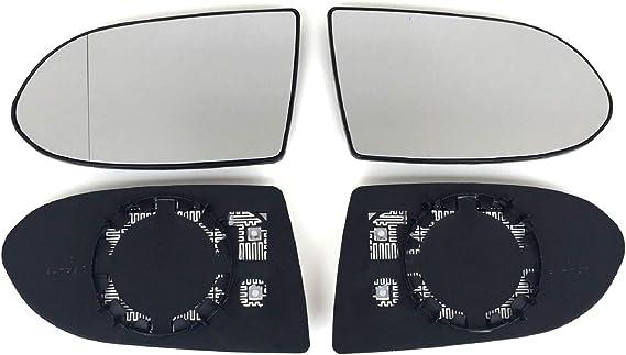 Spiegel Spiegelglas Links Rechts 2er Set Pro Carpentis Kompatibel Mit Zafira A 1999 Bis 2005 Beheizt Ersatzglas Für Aussenspiegel Auto