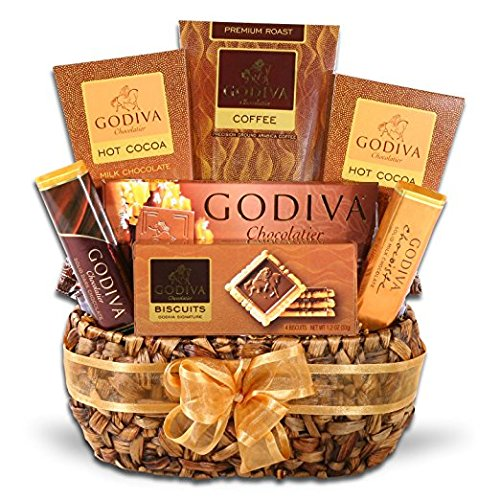 Godiva Gourmet Coffee Delights Gift Basket (Christmas Gift Baskets Online)