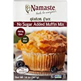 Namaste Foods, Gluten Free Sugar Free Muffin Mix, 14-Ounce Bags (Pack of 6)