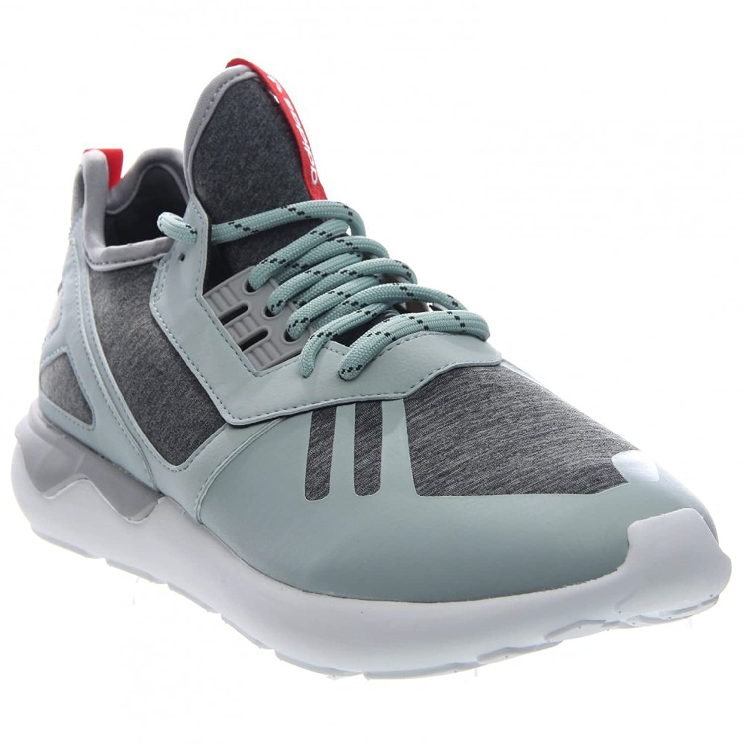 the latest f5114 b7d78 Tubular Runner Weave Mens in Mist Slate Tomato White by Adidas low-cost