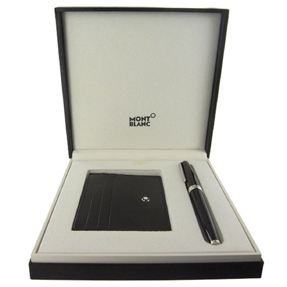 Montblanc Set with Montblanc PIX Black Rollerball and Black Pocket Holder 6cc 116118 by MONTBLANC (Image #2)