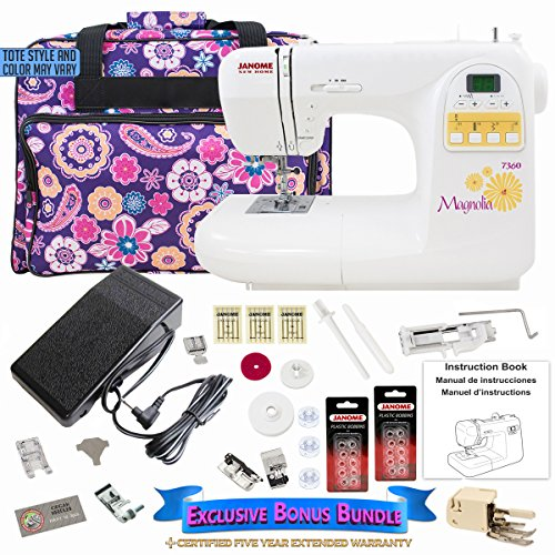 janome-magnolia-7360-sewing-machine-and-accessories