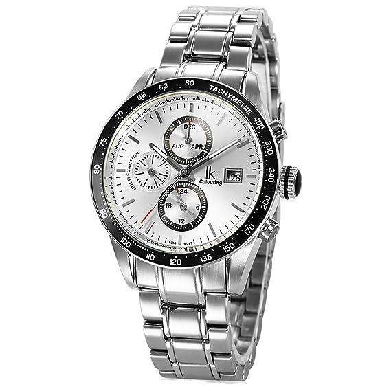 Gute Stahl Fashion Kleid Herren Automatische Mechanische Armbanduhr