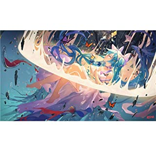 Puzzle ⏰ Famosa Pittura Paesaggio Ragazza 500 Pezzi Giapponese Anime Cartoon Giocattoli per Bambini Kids Intelligence Legno PT419 (Colore : E, Dimensioni : 500pc)