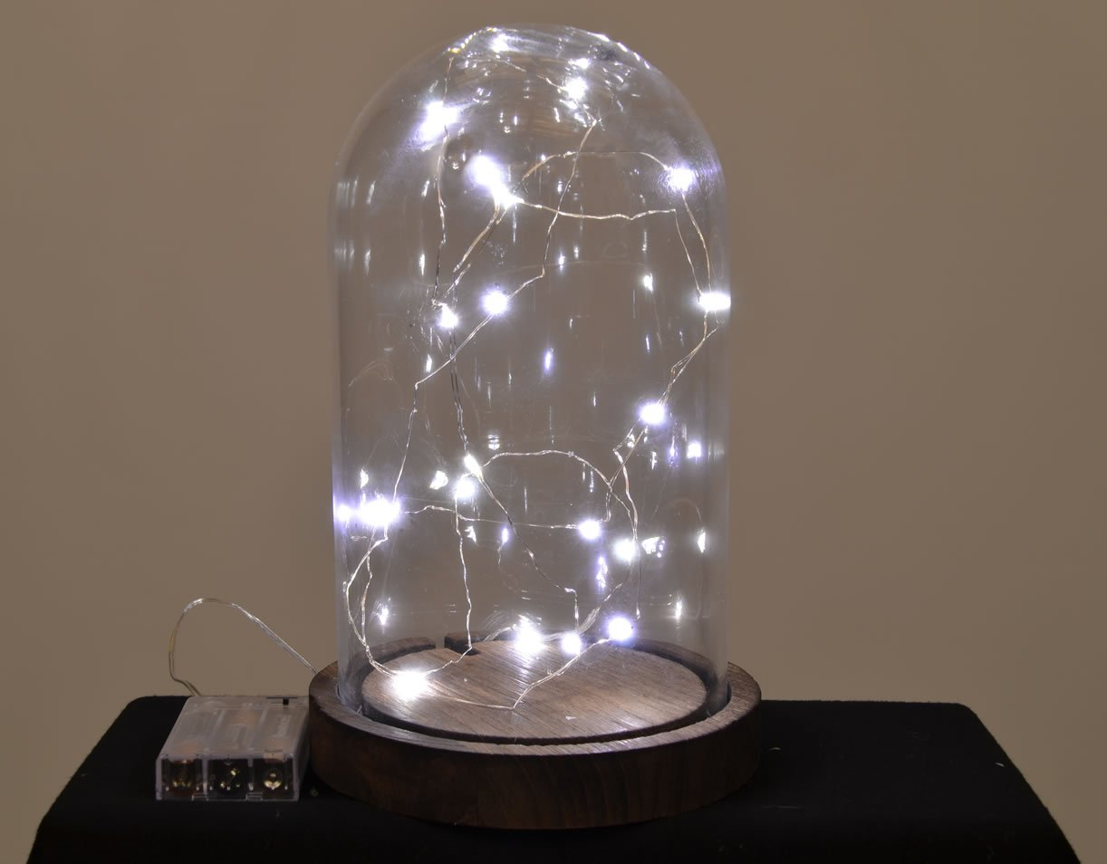 Amazon.com : Starlight 25ft LED String Lights - Silver Flexible ...