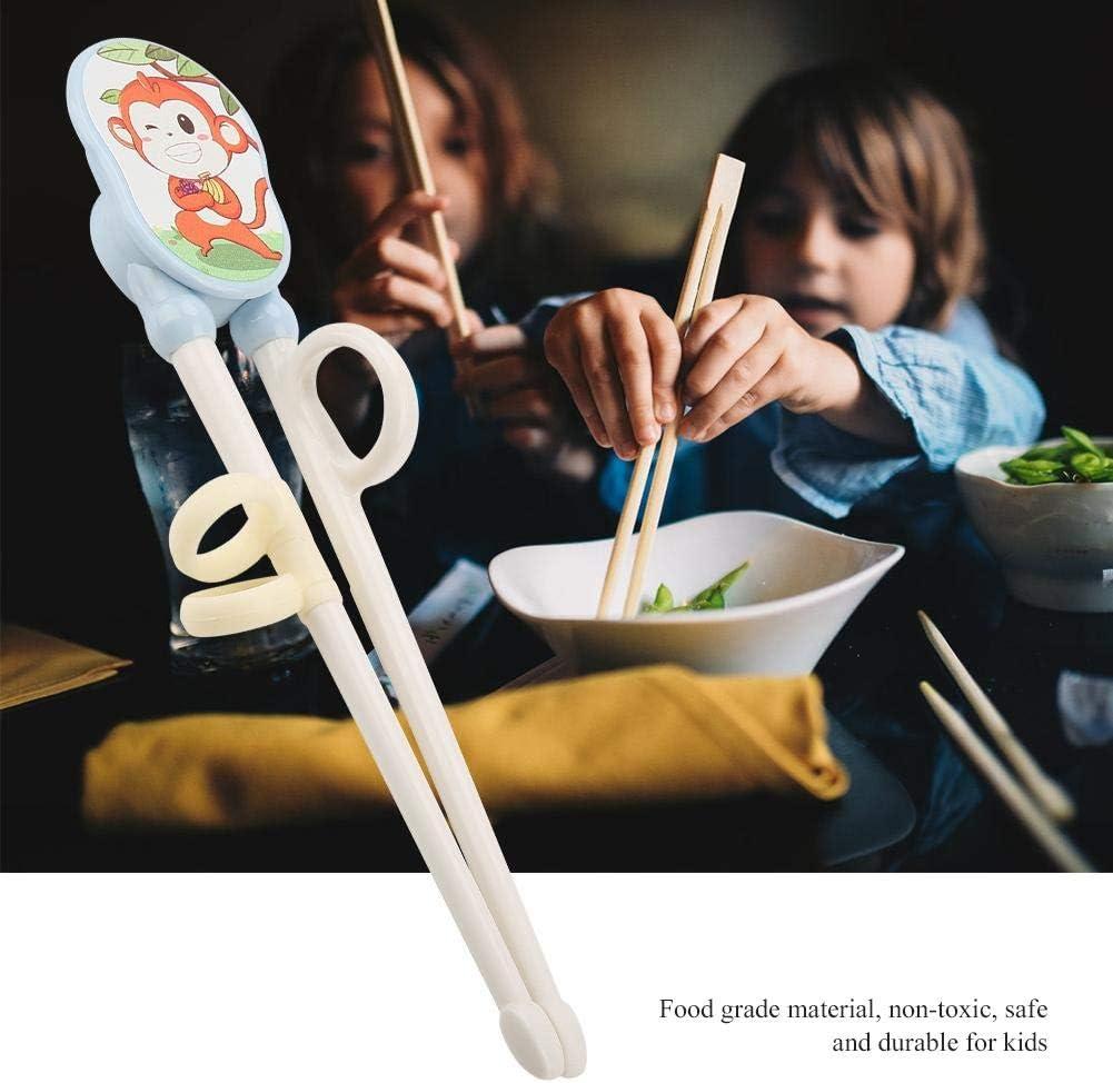 Baguettes Chinoises Enfant Apprentissage Dancepandas Baguettes de Formation Chopsticks Enfant en Bois Naturel pour Apprendre les Enfants d/ébutants Anti-dislocation Avec Bo/îte Portable