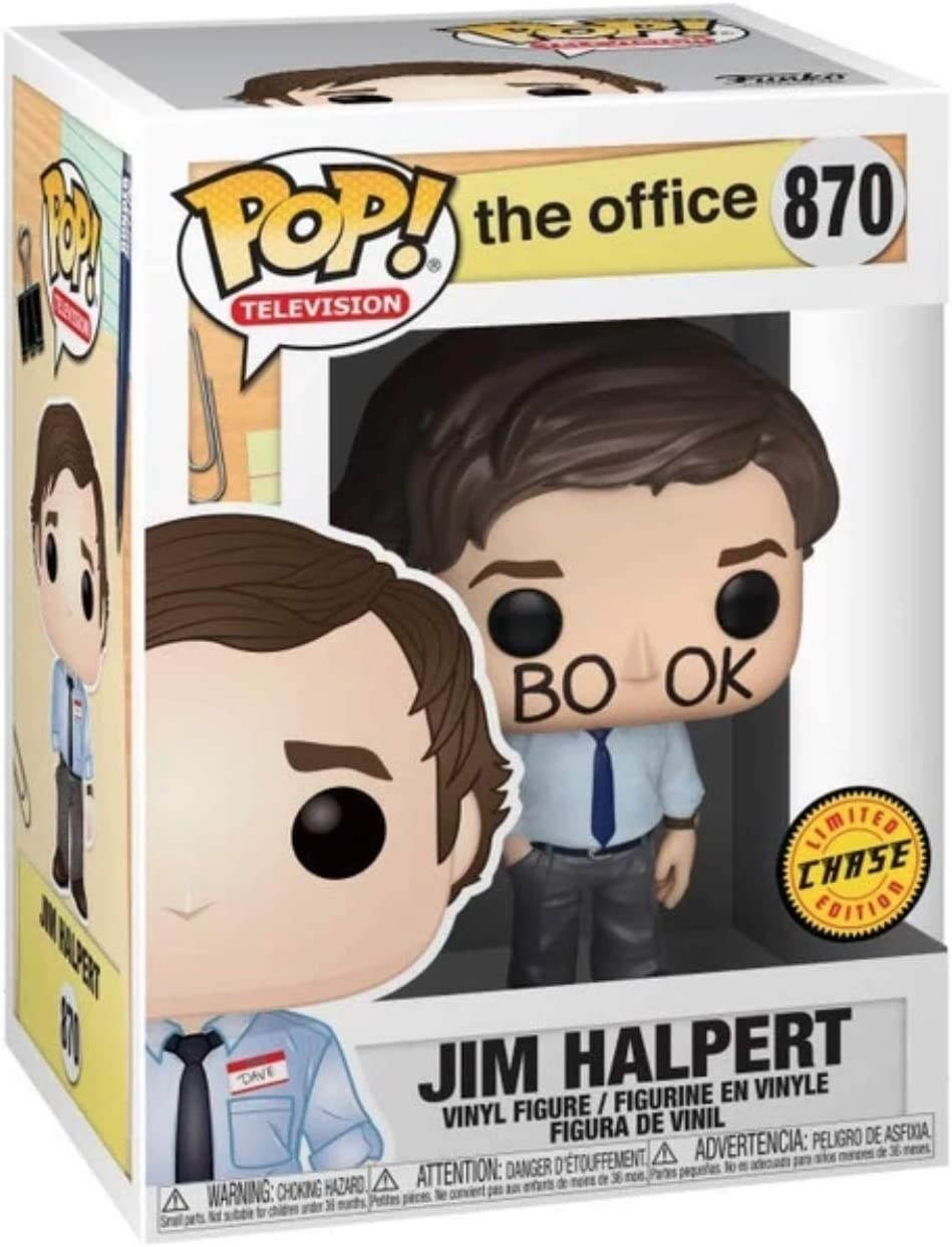 Jim Halpert Chase Limited Edition #34903 Funko Pop Television The Office