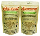 Rawseed Organic Brown Sesame Seeds 3 lbs 2 Pack