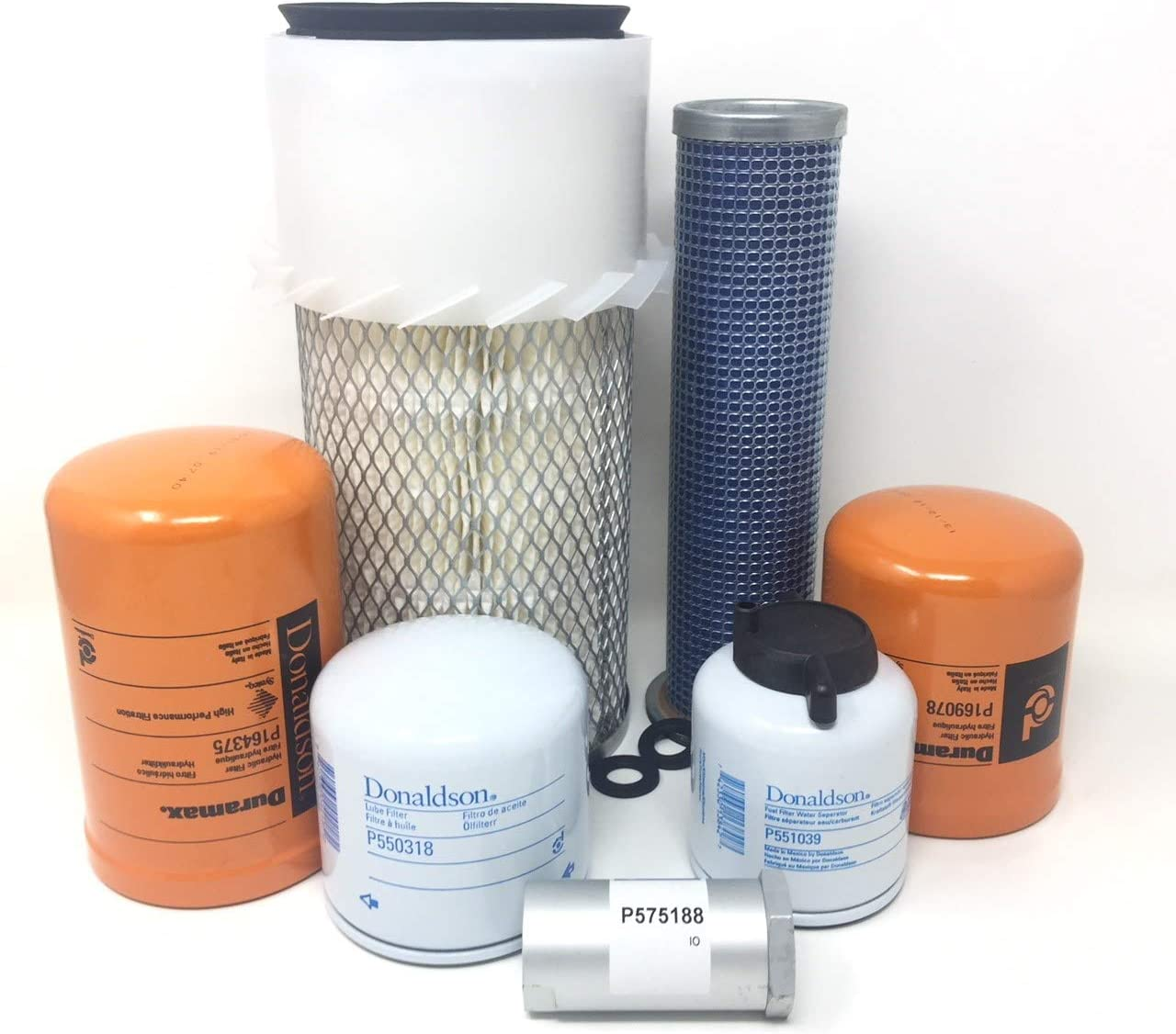 Bobcat Heater Air Filter Kit 2 Skid Steer T110 T140 T180 T190 T250 T300 T320