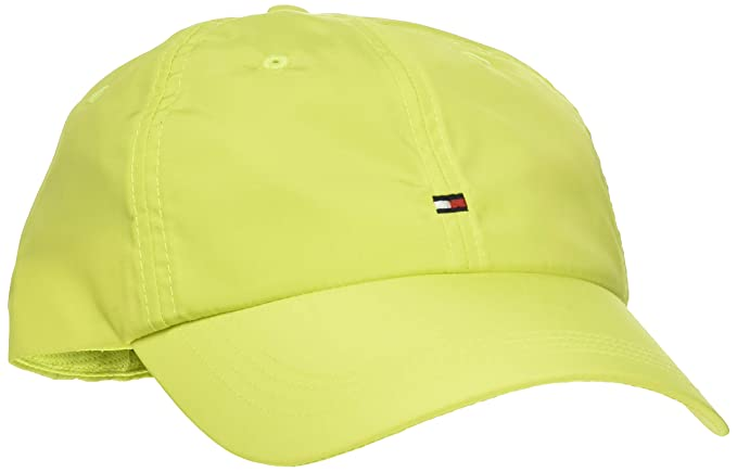Tommy Hilfiger BB Cap Neon Gorra de béisbol, Verde (Green Lre ...