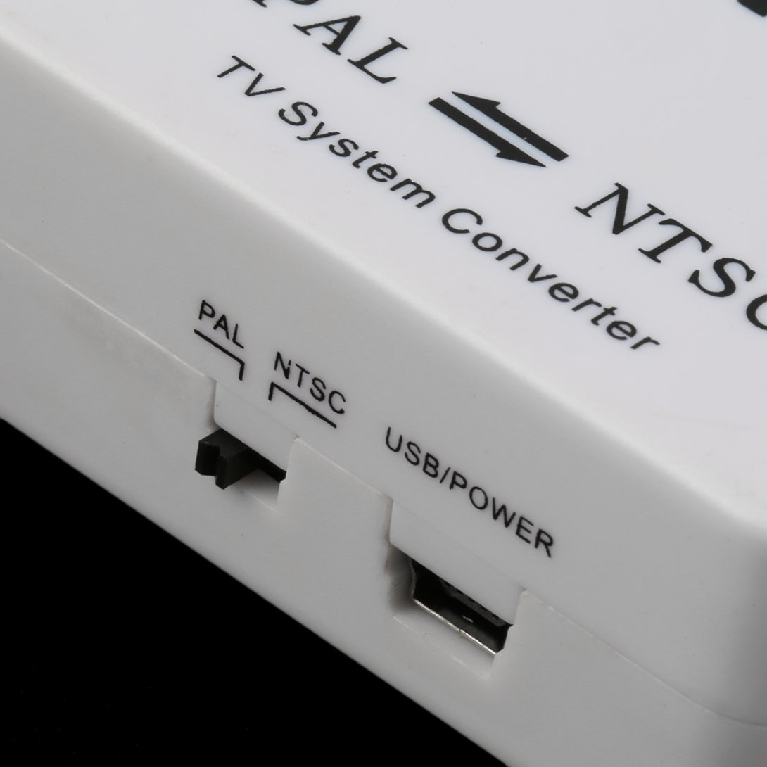 Swiftswan PAL NTSC SECAM vers NTSC PAL TV Syst/ème vid/éo Convertisseur Switcher Adaptateur Nouveau