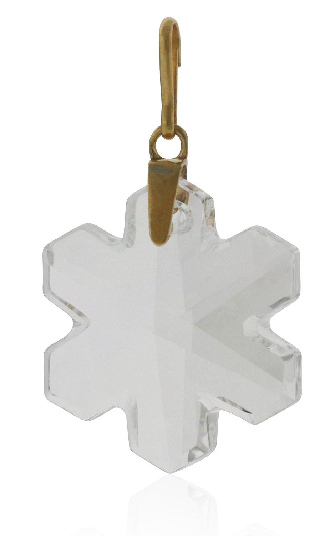 5c2cf4544b0e3 Amazon.com: Alex And Ani Crystal Snowflake Necklace Charm with ...