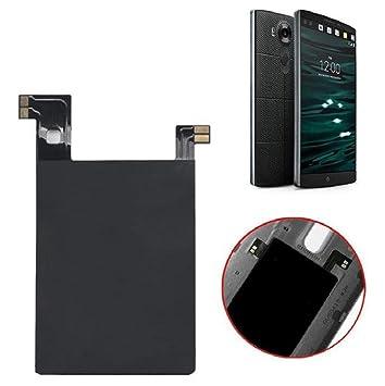 Sannysis® Carga inalámbrica Qi Etiqueta Receptor con chip NFC Ic para LG V10