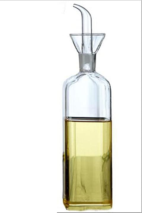 ELETON Square Olive Oil Dispenser Oil Bottle Glass Dispensing Bottles For  Kitchen   Olive Oil Glass