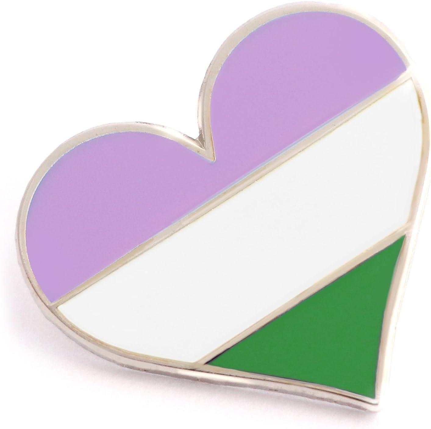 Hard Enamel Pin Gay Disaster Queer Lapel Pin