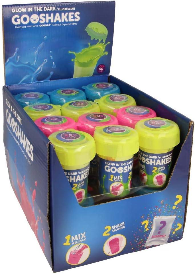 GOGOPO GooShakes Brilla en la Oscuridad DIY Slime Kit Lucky Dip: Amazon.es: Juguetes y juegos