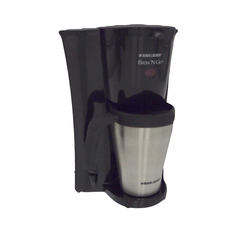 BLACK+DECKER DCM18S Brew 'n Go Personal Coffeemaker with Travel Mug, Black/Stainless Steel by Black & Decker (Image #8)