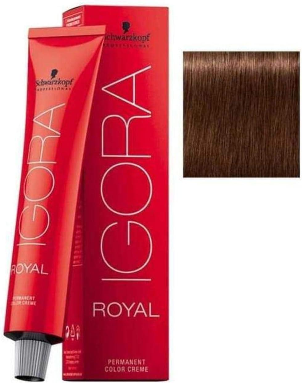 Schwarzkopf Igora Royal Permanent Hair Color - 6-68 Dark Auburn Blonde - 60 ML by Schwarzkopf Igora