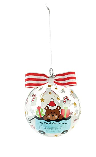 Mud Pie First Christmas Ornament, Blue (Discontinued by Manufacturer) - Amazon.com: Mud Pie First Christmas Ornament, Blue (Discontinued By