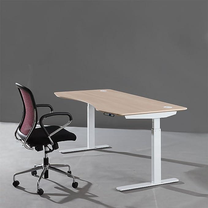 在家办公,推荐一张又大又结实的升降桌