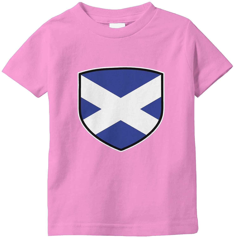 Amdesco Scotland Shield Scottish Flag Infant T-Shirt