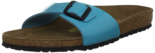 885d91ce2804ad Birkenstock Madrid - 239481 Sandali donna -Normale - Blu (Blue), IT ...