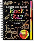 img - for Rock Star Scratch & Sketch (An Art Activity Book for Rock 'n' Rollers for all Ages) (Scratch and Sketch) book / textbook / text book