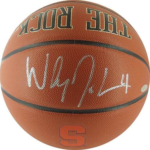 Steiner Sports NBA Syracuse University Wesley Johnson Syracuse ''The Rock'' Basketball by Steiner Sports