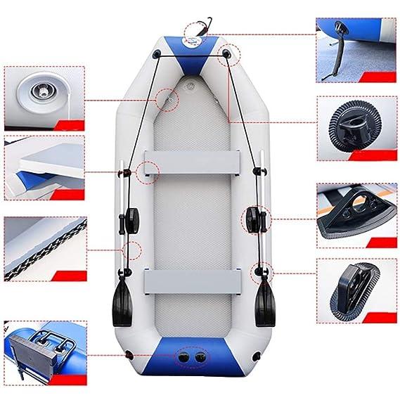 SHZJ Kayak Inflable para 4 Personas,Accesorios para Kayak,Paletas ...