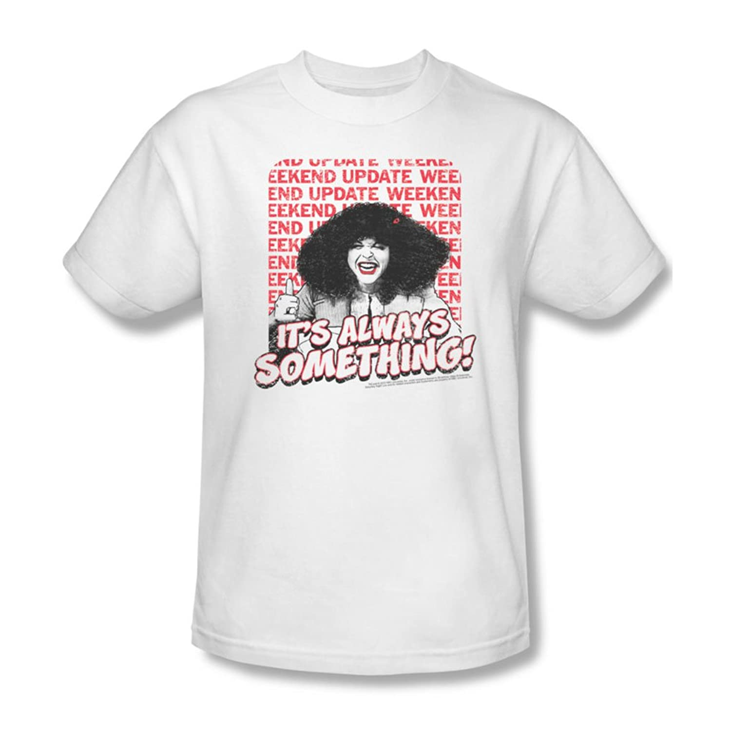 Saturday Night Live - Mens Its Always Something T-Shirt In White