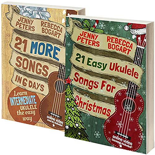 - Beginning Ukulele Songs Box Set Books 3 & 4: Book + Online Video