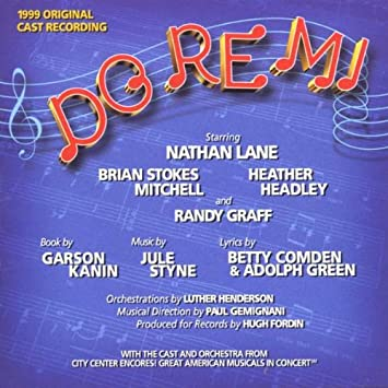 Jule Styne Betty Comden Adolph Green Nathan Lane Brian Stokes Mitchell