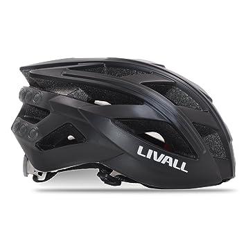 livall bh60 casco de bicicleta casco de seguridad Ultra ligero con controlador inteligentes + lámpara Bling