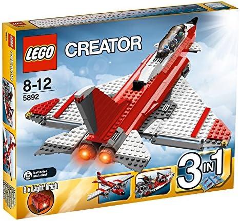 LEGO - 5892 - Jeux de construction - LEGO creator - L'avion supersonique