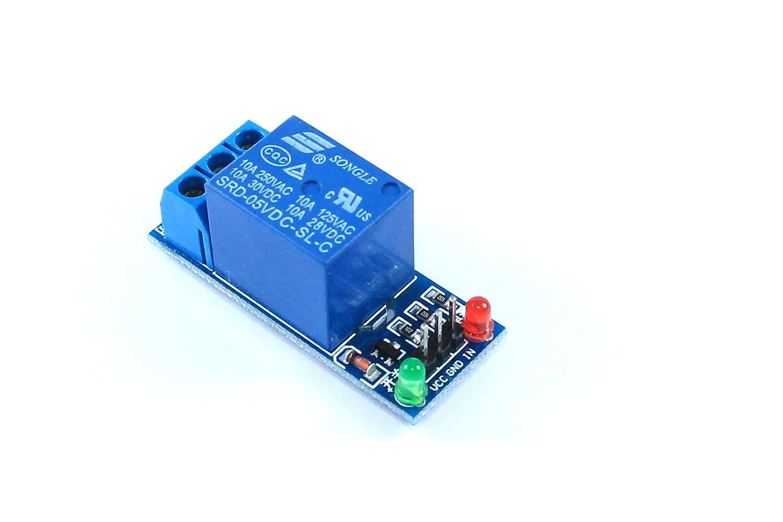 5V 2 Channel Relay Module 250V 125V AC 30V 28V DC Arduino PIC AVR Flux Workshop