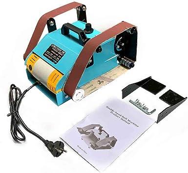 Cozyel - Lijadora de cinta, 950 W, lijadora con caja para recogida ...