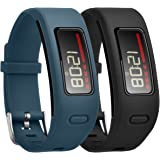 CreateGreat Bands Compatible for Garmin Vivofit,Soft Silicone Replacement Accessory Band for Garmin Vivofit/Garmin Vivofit Band/Garmin Vivofit Bands