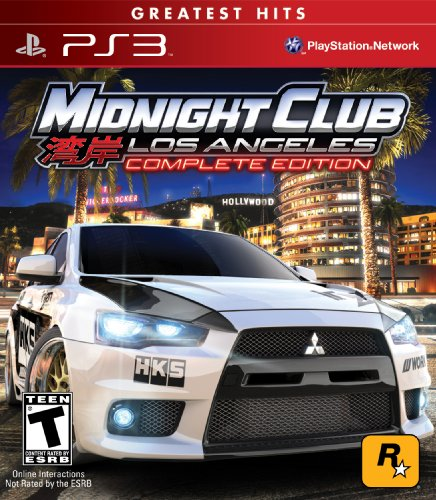 Midnight Club: Los Angeles - Complete Edition - PS3 [Digital Code]